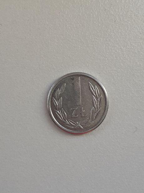 Moneta 1 zł 1989 r średnica-1,3cm