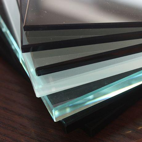 Szkło hartowane - bezbarwne,białe, mleczne,czarne barwiona w masie