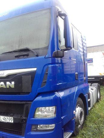 Skup ciągników siodłowych samochodowych MAN ciężarówek naczep aut