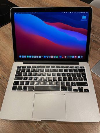 """MacBook Pro Retina 13"""" i5 2,7 GHz 8 GB DDR3 SSD 128 GB Iris 6100"""