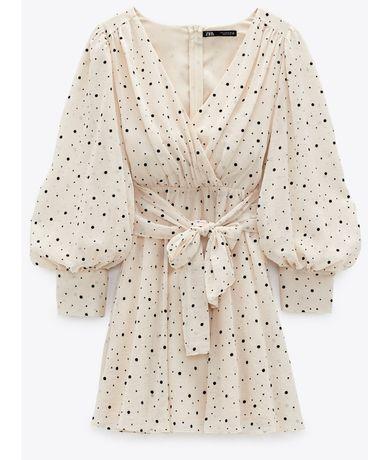 Sukienka, Zara, groszki,