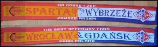 Szalik Sparta Wrocław - Wybrzeże Gdańsk