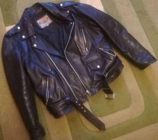 Włoska kurtka motocyklowa RIFLE - skóra