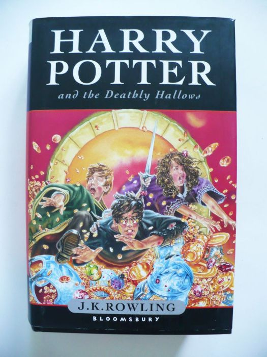 J. K. Rowling, Harry Potter and the Deathly Hallows 2007 st. idealny Lublin - image 1