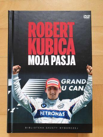 Książka Robert Kubica Moja Pasja + DVD