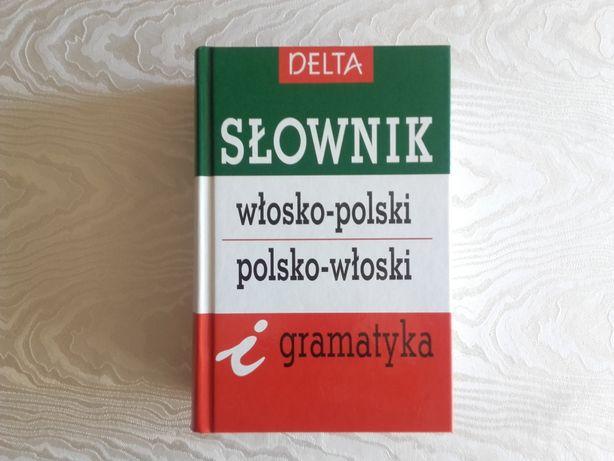 Słownik polsko-włoski i włosko-polski DELTA