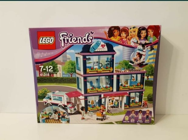 Klocki Lego Friends 41318 Szpital w Heartlake