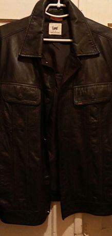 Продам кожанный пиджак Lee