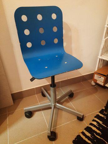 Krzesełko biurkowe dziecięce ikea jules