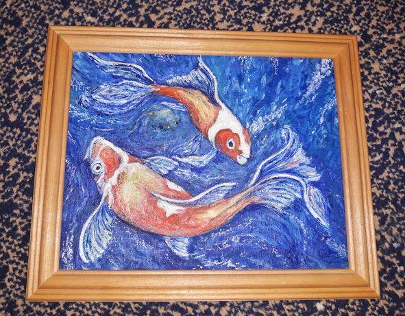 """Картина """"Рыбки"""" ."""