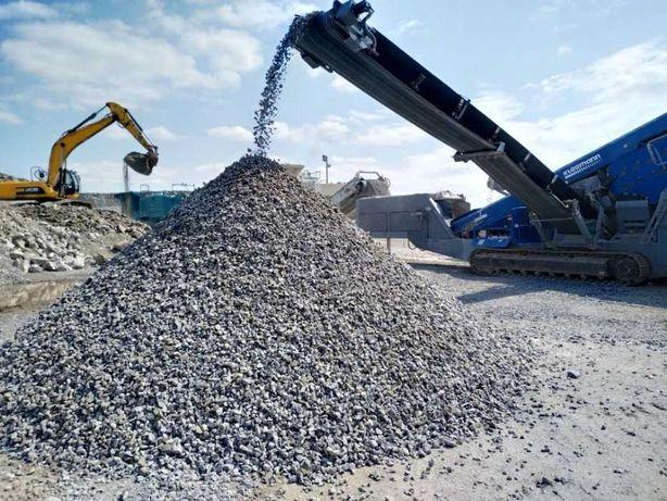 Услуги по дроблению бетона, железобетона с выделением арматуры