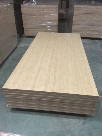 Płyta bambusowa 750 kg gęstości m3