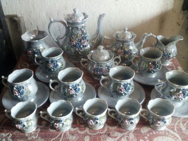 Чайный кофейный сервиз Kil Югославия на 6 персон