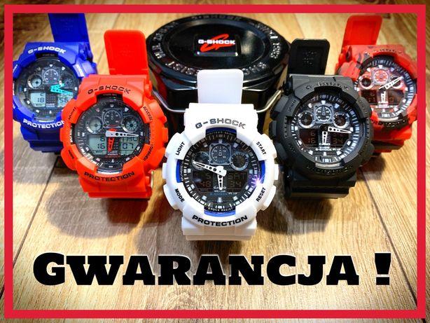 Casio G Shock z GWARANCJĄ 12 m-cy, nowe zegarki jak G Shock na prezent