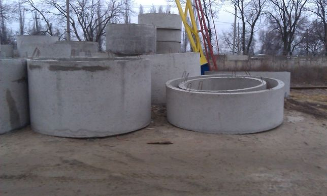 Кільця каналізаційні , круги , кольца канализационные , каналізація