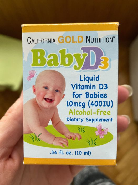 Вітамін Д3 для дітей California Gold Nutrition Львов - изображение 1