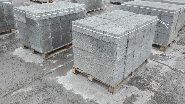 Bloczek fundamentowy, betonowy, szalunek, kostka betonowa, betonit
