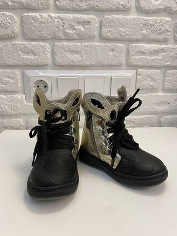 Зимние ботинки 22 р. Turubi