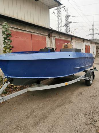 Лодка Прогресс-2 Модернизированая+Лафет