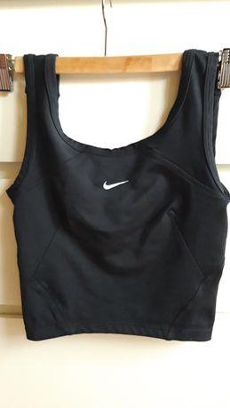 Czarny krótki top Nike S