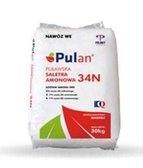 Saletra amonowa PULAN - nawóz na trawnik