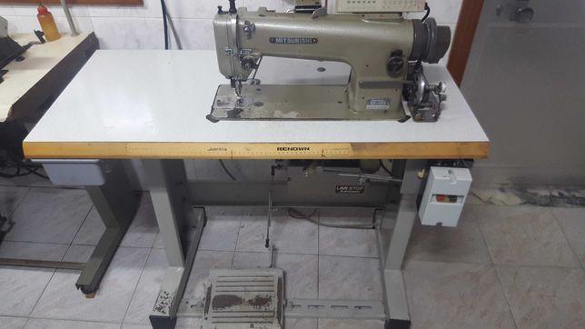 Conjunto de 4 máquina: Costura,  Afitar/Avivar e Corte&Cose