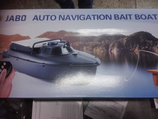 Łódki zanętowe z GPS z echosondą