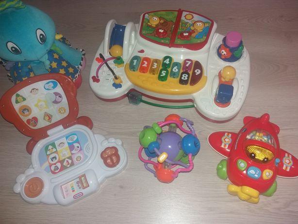 Розвивающие игрушки центр, ноутбук, музикальние, осьминог. Машинка