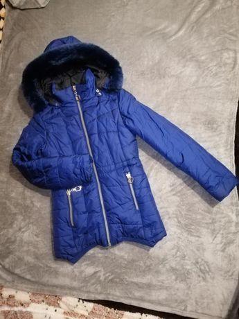 Зимнее пальто для девочки 11 лет
