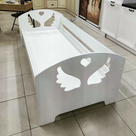 Кровать крылья ангела, ліжко крила янгола, дитяче підліткове ліжко