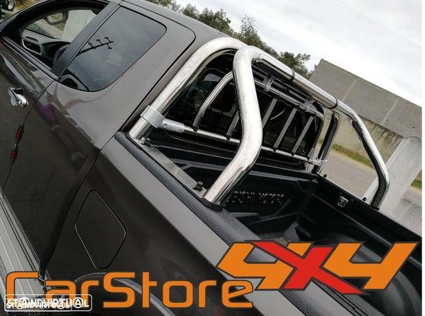 Rollbar Inox Mitsubishi L200 C Proteção Vidro