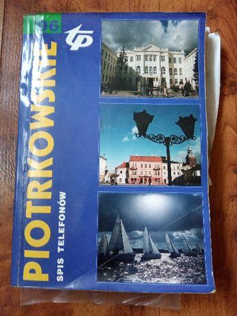 Książka tel spis telefonów Piotrkowskie 96