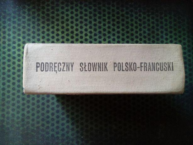 Słownik polsko-francuski Wiedza Powszechna 1974 / 1150 stron