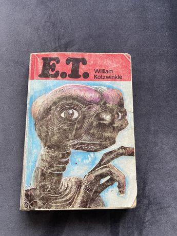 Ksiazka E.T. z 1987 roku william kotzwinkle