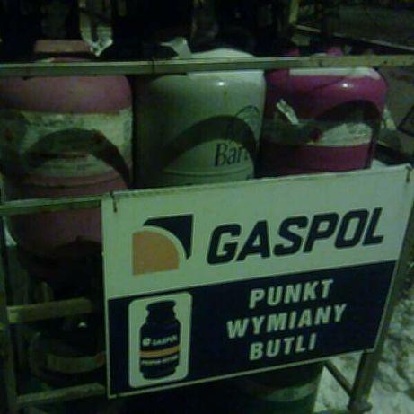 BUTLE 11kg z gazem WYMIANA butla GAZ Bydgoszcz Fordon propan-butan