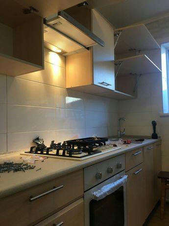Сборка-разборка новой или б/у мебели любой сложности, шкафы-купе кухни