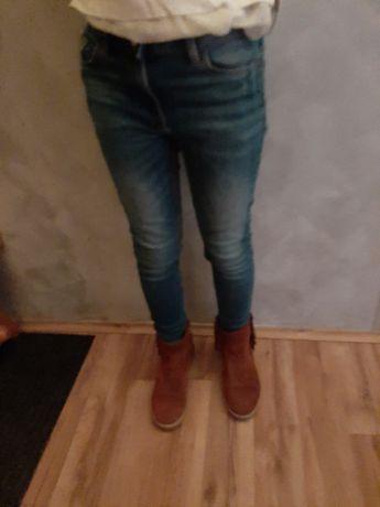 Spodnie dżinsy Next 128