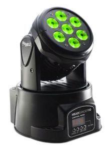 Oświetlenie ruchoma głowa LED stagg MHW HB10-0