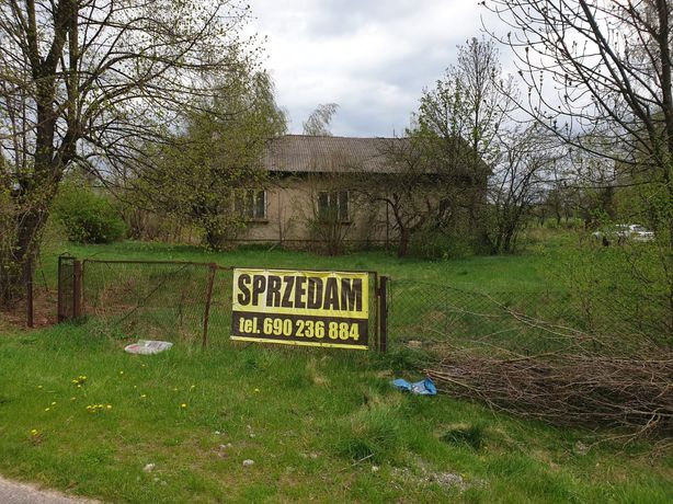 Dom w Siadczy Śląsk gmina Pilica działka budowlana