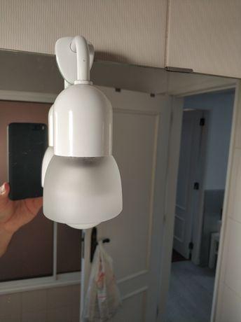Candeeiro de espelho wc