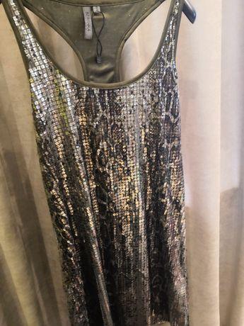 Нова Сукня жіноча Bershka з паєтками.