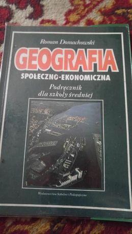 Geografia społeczno-ekonomiczna : R. Domachowski