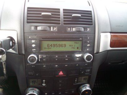 Radio oryginał Touareg l