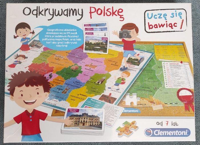 Zabawka edukacyjna - ODKRYWAMY POLSKĘ (Clementoni) - 15 zł Bydgoszcz - image 1