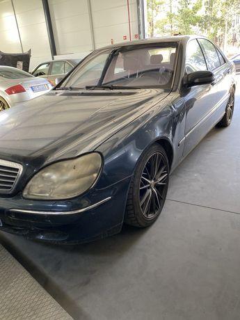 Mercedes S 400 cdi para peças