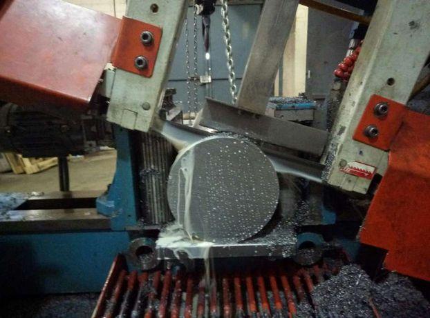 Услуга порезки любых сталей, на ленточнопильном станке. Ленточные пилы