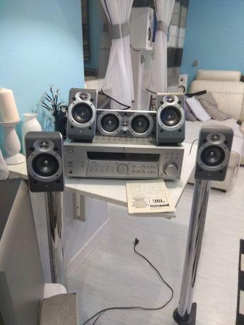 Głośniki i amplituner