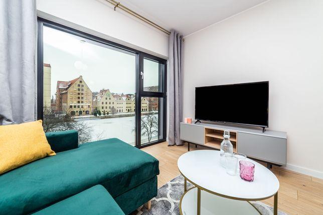 Apartament wysoki standard z widokiem na rzekę, w Centrum, garderoba!