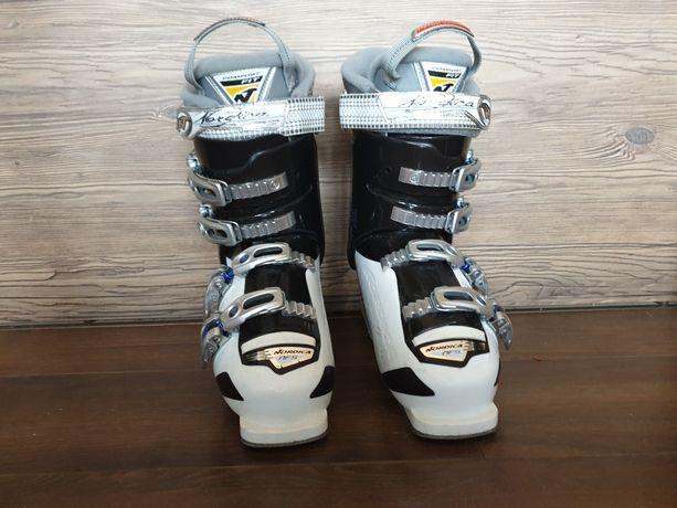 Buty narciarskie Nordica 240-245; 24-24,5 skorupa 285