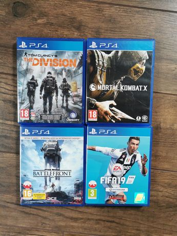 Zestaw gier na PS4